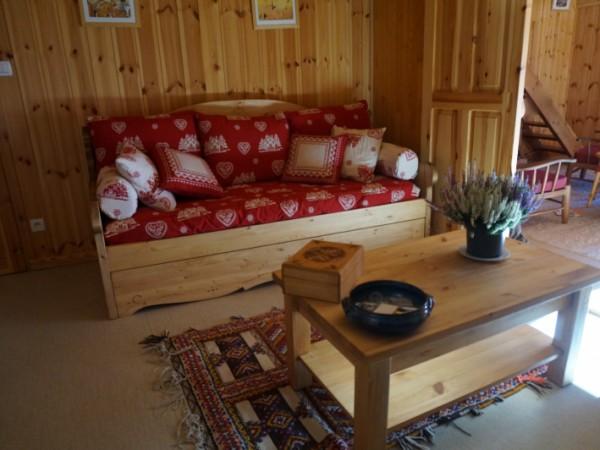 Bureau-chambre avec 2 lits gigognes