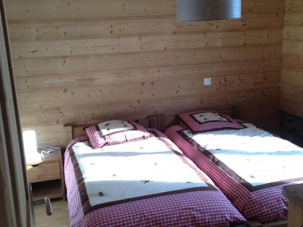 chalet soleniou - une chambre