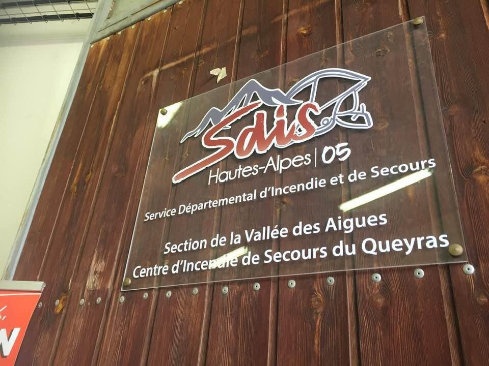 Une nouvelle section de pompiers à Saint-Véran