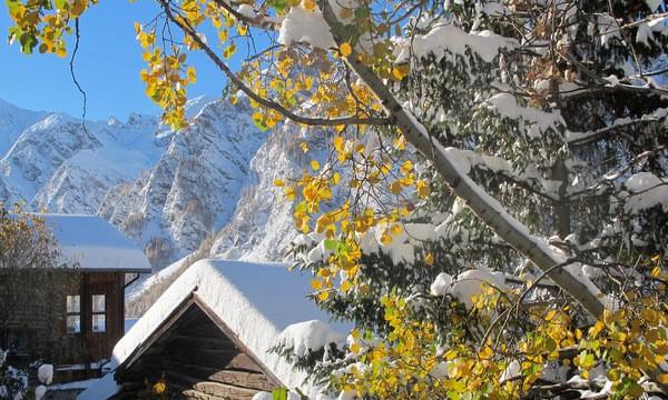 premiere neige fin d'automne