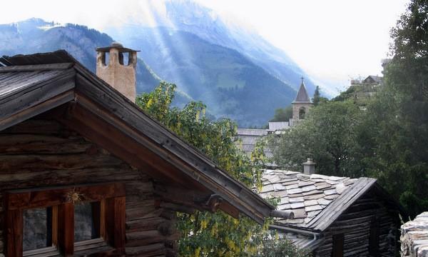 lumières d' ete sur le village