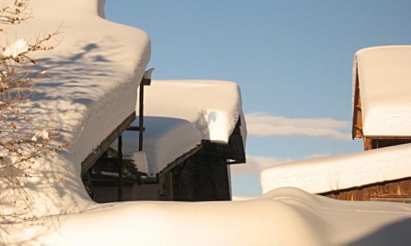 les toits de saint veran hiver