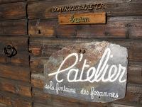 L'atelier de la Fontaine des Forannes