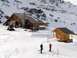 Le refuge de la Blanche, refuge d'altitude