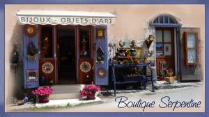 Bijouterie Serpentine, bijoux, objets d'art